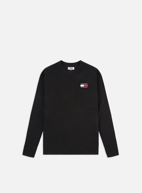 Long Sleeve T-shirts Tommy Hilfiger TJ Tommy Badge LS T-shirt