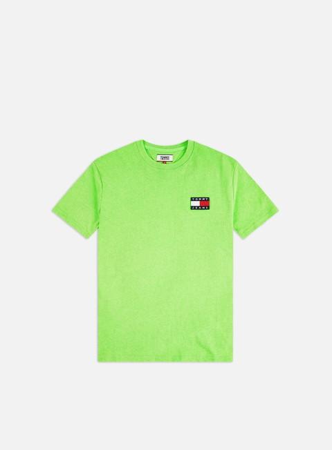 T-shirt a Manica Corta Tommy Hilfiger TJ Tommy Badge Neon T-shirt