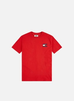 Tommy Hilfiger - TJ Tommy Badge T-shirt, Deep Crimson