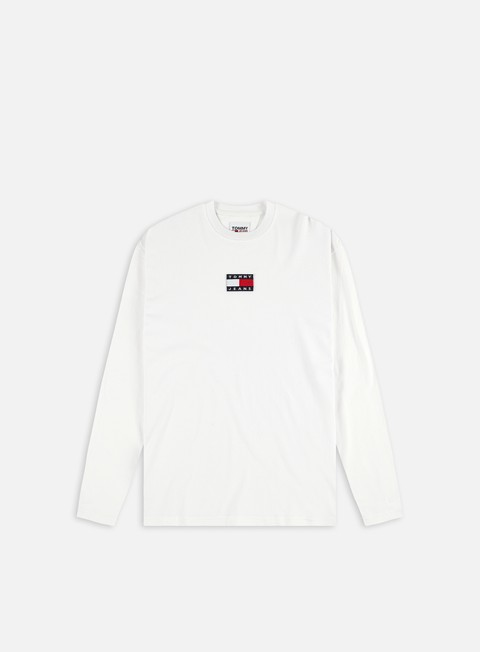 T-shirt a manica lunga Tommy Hilfiger TJ Tommy Center Badge LS T-shirt