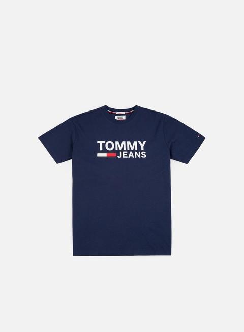 t shirt tommy hilfiger tj tommy classics logo t shirt black iris