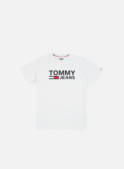 t shirt tommy hilfiger tj tommy classics logo t shirt classic white