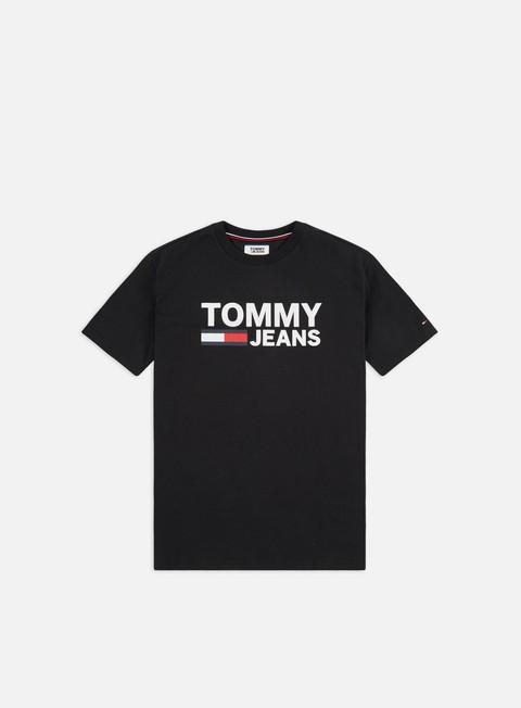 Outlet e Saldi T-shirt a Manica Corta Tommy Hilfiger TJ Tommy Classics Logo T-shirt