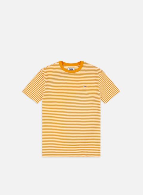 Outlet e Saldi T-shirt a Manica Corta Tommy Hilfiger TJ Tommy Classics Stripe T-shirt