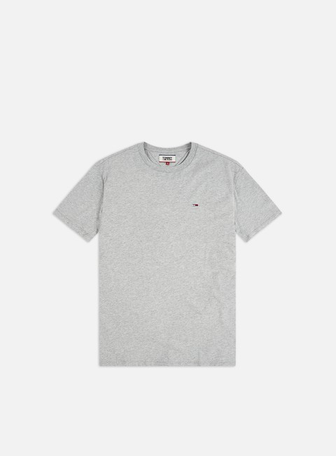 t shirt tommy hilfiger tj tommy classics t shirt light grey heather