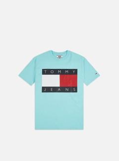 Tommy Hilfiger - TJ Tommy Flag T-shirt, Chlorine Blue