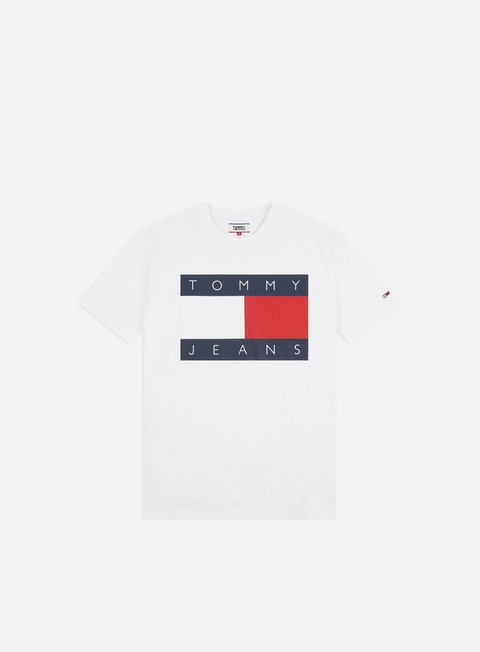 Sale Outlet Short Sleeve T-shirts Tommy Hilfiger TJ Tommy Flag T-shirt
