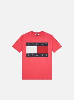 Tommy Hilfiger - TJ Tommy Flag T-shirt, Light Cerise Pink