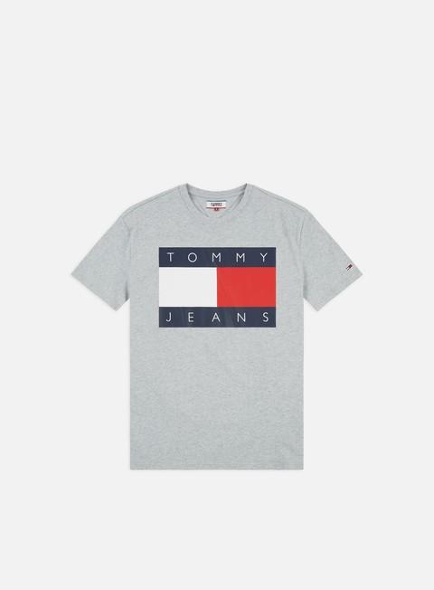 Outlet e Saldi T-shirt a Manica Corta Tommy Hilfiger TJ Tommy Flag T-shirt