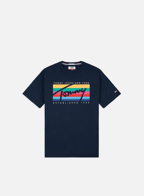 Sale Outlet Short Sleeve T-shirts Tommy Hilfiger TJ Tommy Rainbow Box T-shirt