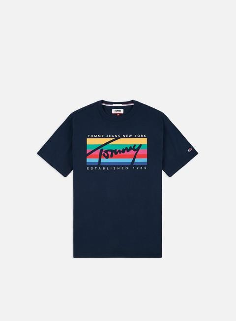 T-shirt a Manica Corta Tommy Hilfiger TJ Tommy Rainbow Box T-shirt