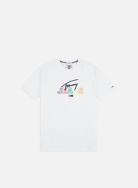 Sale Outlet Logo T-shirts Tommy Hilfiger TJ Tommy Script T-shirt