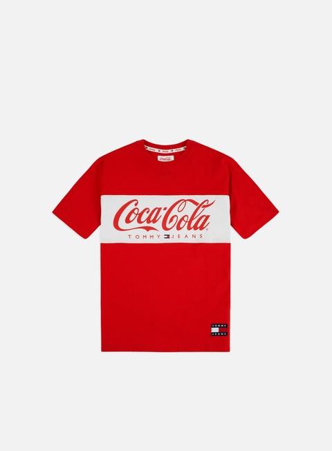 Outlet e Saldi T-shirt a Manica Corta Tommy Hilfiger TJ Tommy x Coca Cola T-shirt
