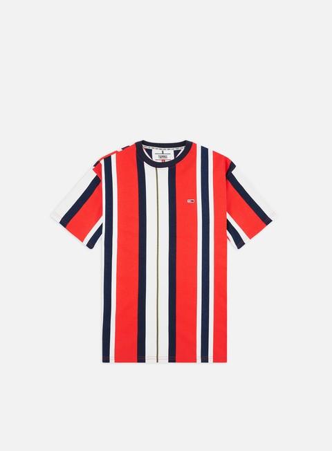 T-shirt a Manica Corta Tommy Hilfiger TJ Vertical Stripe T-shirt