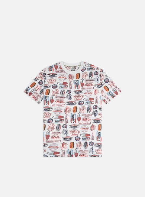 T-shirt con Stampa All Over Tommy Hilfiger TJ Washed Allover T-shirt