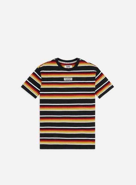 Short Sleeve T-shirts Tommy Hilfiger TJ Yarn Dye Stripe T-shirt