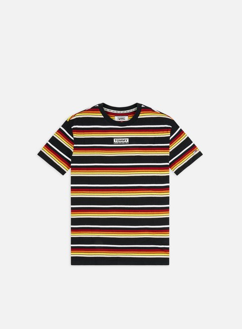 Outlet e Saldi T-shirt a Manica Corta Tommy Hilfiger TJ Yarn Dye Stripe T-shirt