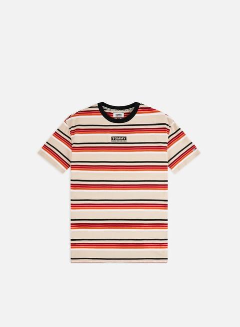 T-shirt con Stampa All Over Tommy Hilfiger TJ Yarn Dye Stripe T-shirt