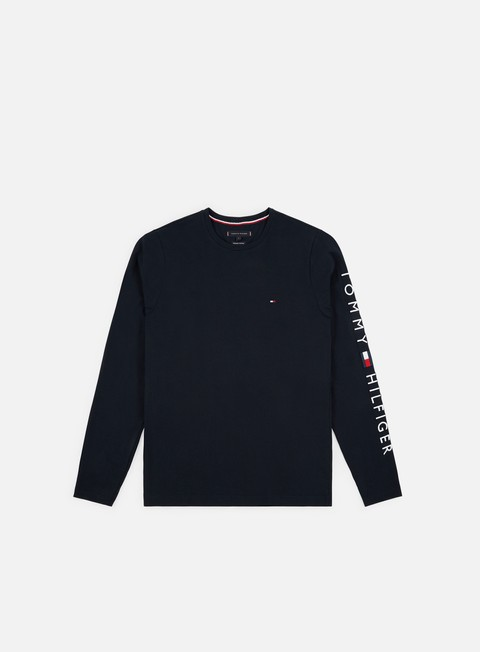 Sale Outlet Long sleeve T-shirts Tommy Hilfiger Tommy Logo LS T-shirt