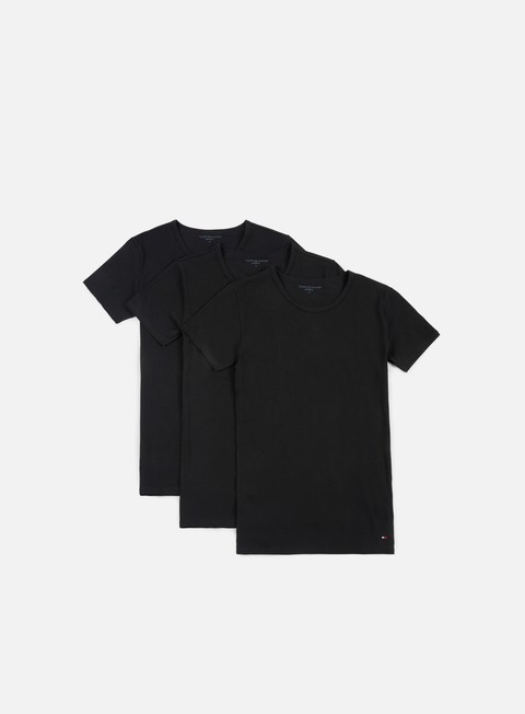 t shirt tommy hilfiger underwear premium essentials t shirt 3 pack black