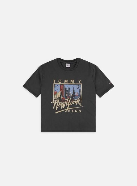T-shirt a manica corta Tommy Hilfiger WMNS Boxy New York Vintage Crop T-shirt