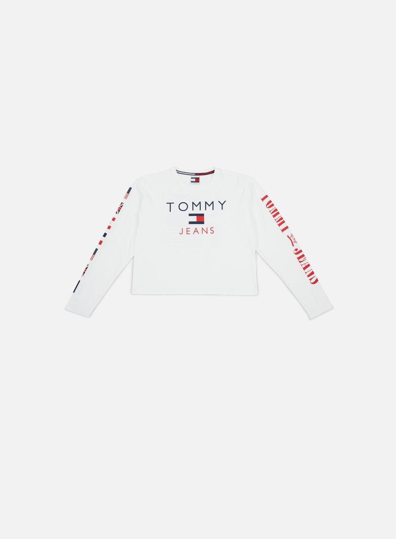 c258e5c8 TOMMY HILFIGER WMNS TJ 90s CN LS T-shirt € 59 Long Sleeve T-shirts ...