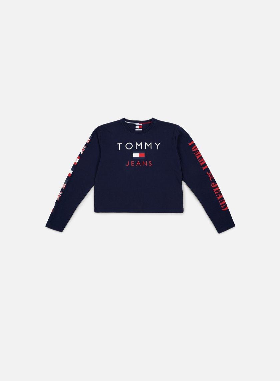 1074b5c9 TOMMY HILFIGER WMNS TJ 90s CN LS T-shirt € 59 Long Sleeve T-shirts ...