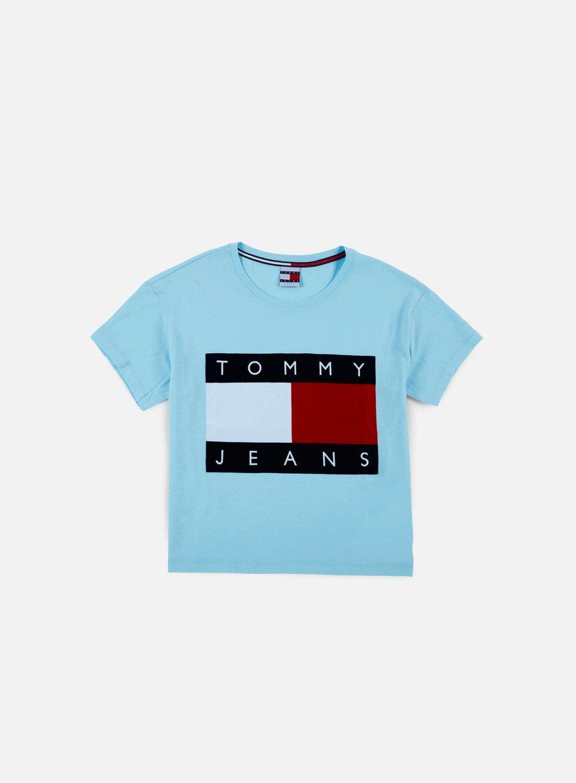 8c75645b565 TOMMY HILFIGER WMNS TJ 90s Flock T-shirt € 49 Short Sleeve T-shirts ...