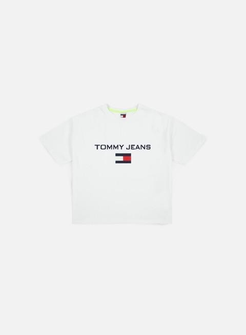 t shirt tommy hilfiger wmns tj 90s logo t shirt bright white