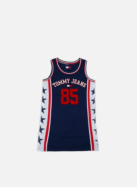 Canotte da Basket Tommy Hilfiger WMNS TJ 90s Sport Dress Tank Top
