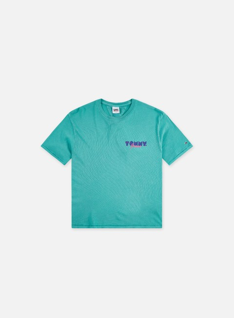 T-shirt a manica corta Tommy Hilfiger WMNS TJ Crop Vintage T-shirt