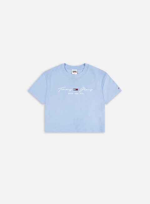 T-shirt a Manica Corta Tommy Hilfiger WMNS TJ Rib Baby T-shirt