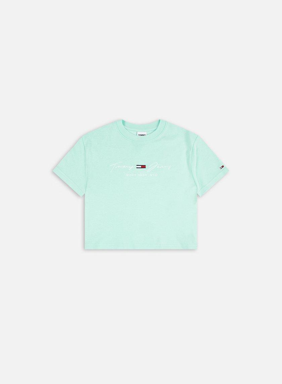 Tommy Hilfiger WMNS TJ Rib Babydoll T-shirt