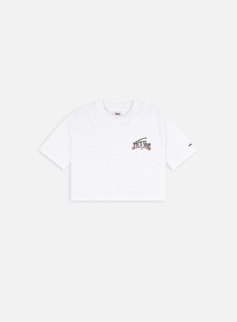T-shirt a manica corta Tommy Hilfiger WMNS TJ Super Crop Logo T-shirt