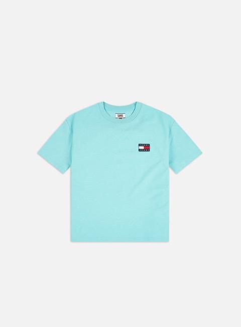 Outlet e Saldi T-shirt Logo Tommy Hilfiger WMNS TJ Tommy Badge T-shirt