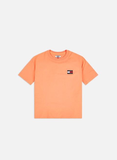 Outlet e Saldi T-shirt a Manica Corta Tommy Hilfiger WMNS TJ Tommy Badge T-shirt
