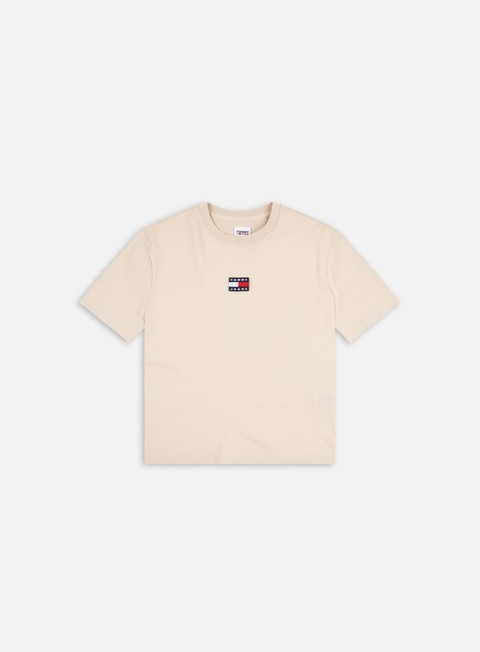 T-shirt a manica corta Tommy Hilfiger WMNS TJ Tommy Center Badge T-shirt
