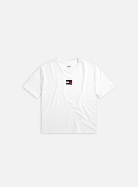 Short sleeve T-shirts Tommy Hilfiger WMNS TJ Tommy Center Badge T-shirt