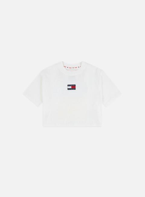 Outlet e Saldi T-shirt a Manica Corta Tommy Hilfiger WMNS TJ Tommy x Coca Cola Repeat Cropped T-shirt