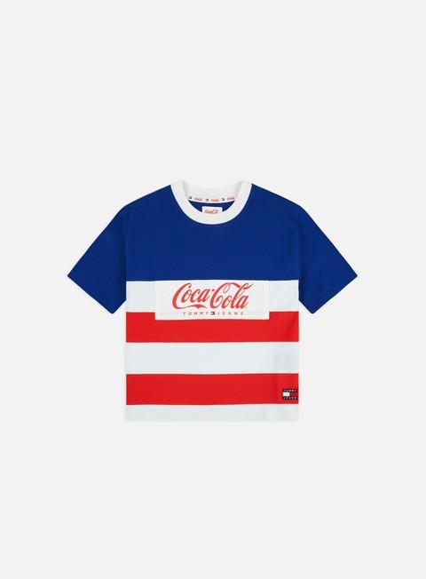 Sale Outlet Logo T-shirts Tommy Hilfiger WMNS TJ Tommy x Coca Cola Stripe Tshirt