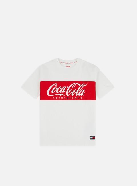 Outlet e Saldi T-shirt a Manica Corta Tommy Hilfiger WMNS TJ Tommy x Coca Cola T-shirt