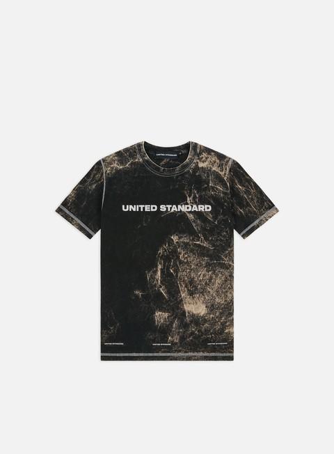 Outlet e Saldi T-shirt a Manica Corta United Standard Glitch Logo T-shirt