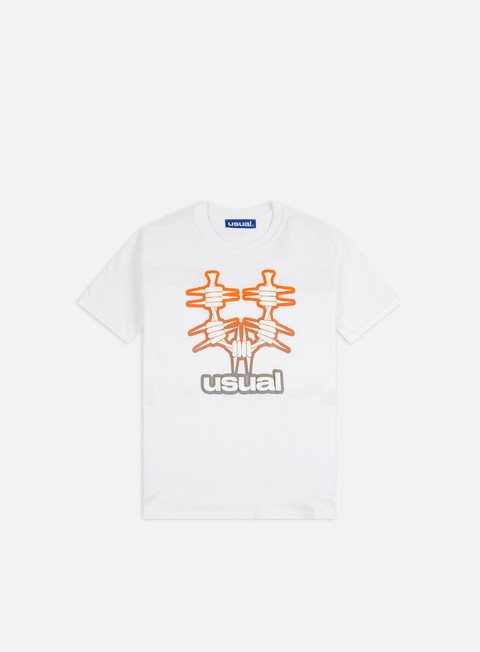 Short sleeve T-shirts Usual Logo Gradient T-shirt