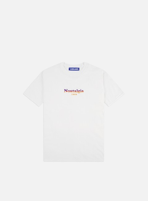 Short Sleeve T-shirts Usual Nostalgia 1994 Gradient T-shirt
