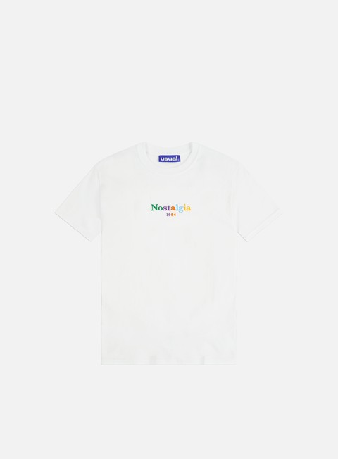 Short Sleeve T-shirts Usual Nostalgia 1994 Rainbow T-shirt