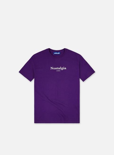 Short sleeve T-shirts Usual Nostalgia Peace T-shirt