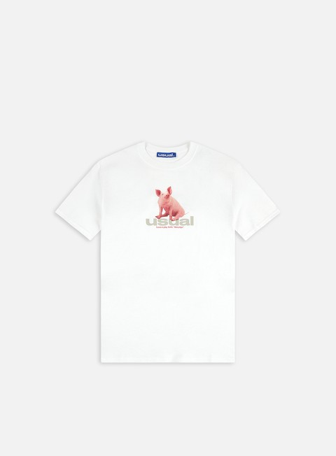 Short Sleeve T-shirts Usual Piggy T-shirt