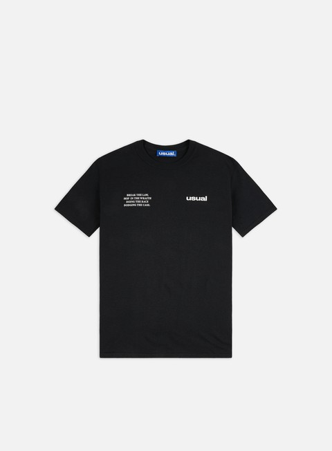 Short Sleeve T-shirts Usual Run T-shirt