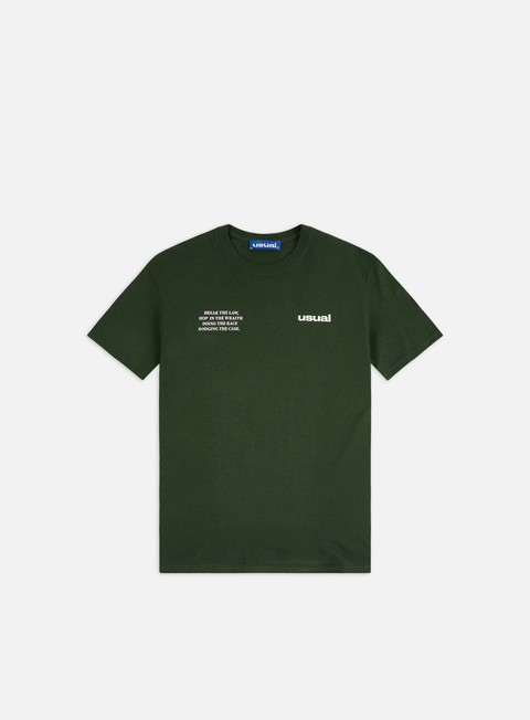T-shirt a Manica Corta Usual Run T-shirt