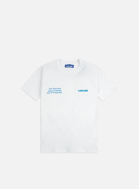 Short sleeve T-shirts Usual Run T-shirt